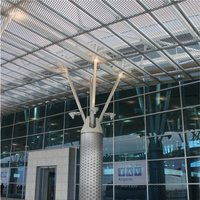 EXPANDED METAL LIGHT DIFFUSERS
