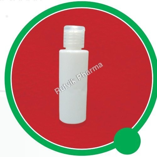 60 Ml HDPE Bottle With 19 Mm Flip Top Cap
