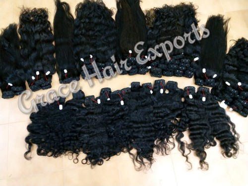 Unprocessed Indian Weft Hair