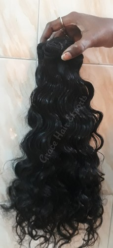 Thick Curly Weft Hair