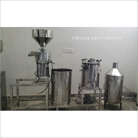 100 LPH Soya Milk Machine