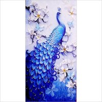 Single Blue Peacock Night Vision Tiles