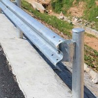 W BEAM SINGLE FACED DOUBLE BARRIER