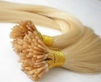 White I-tip Hair Extension