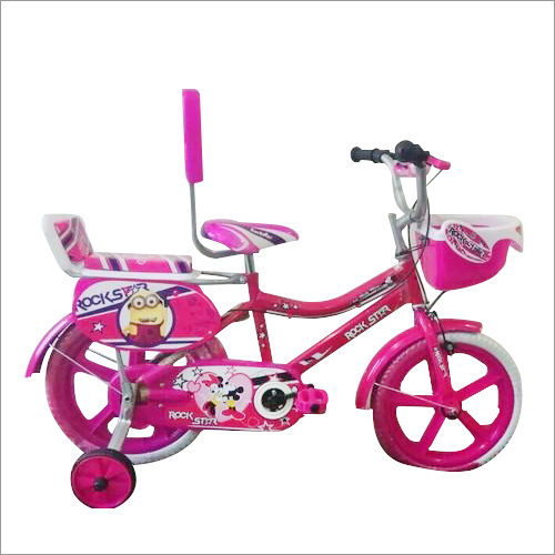 16 Inch Kids Pink Bicycle