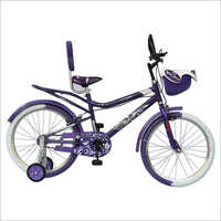 20  Inches 4 Wheel Kids Bicycle