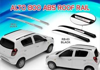 ALTO-800 ABS ROOF RAIL (SILVER & BLACK)