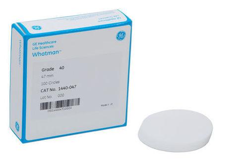 Filter paper Grade: 40, 12.7 mm