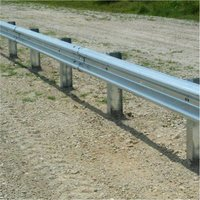 W BEAM DOUBLE FACED DOUBLE BARRIER