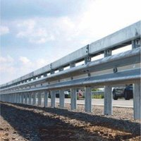 W Beam Double Faced Single Barrier
