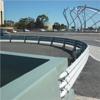 HIGHWAY SAFETY GUARD RAILS