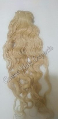Golden Blonde Hair Extension