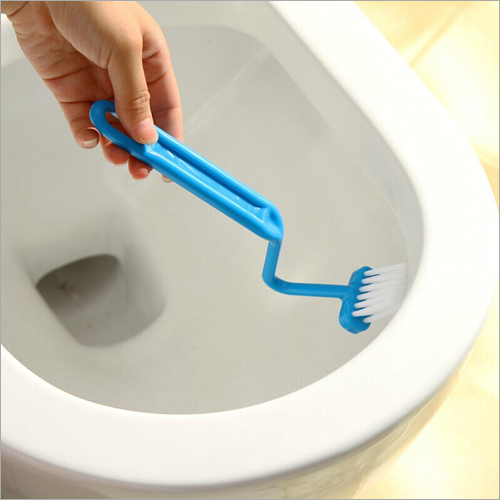 V Shaped Toilet Cleaning Brush
