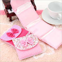 Designer Sanitary Napkin Pouch Set