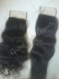 Transparent Swiss Lace Closure and Frontal