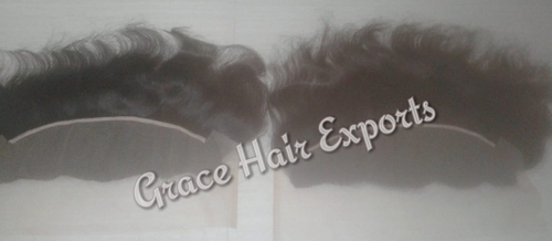 Transparent Swiss lace frontal 13x6