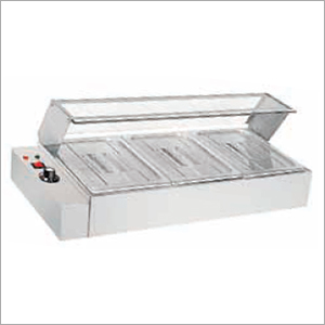 Table Top Electric Bain Marie with Glass