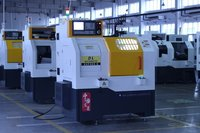 Horizontal Automatic CNC Lathe Machine