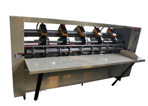 Efficient Thin Blade Slitter Scorer Machine With Simultaneously Cutting & Grinding
