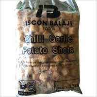 Chilly Garlic Potato Shots