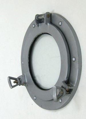 Porthole Glass Aluminum 9 Inch