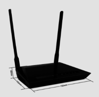 R615N 300Mbps OpenWRT Wifi Router
