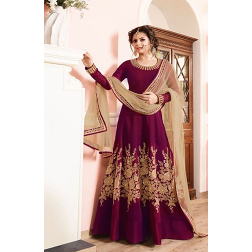 Cheery Color Ladies Traditional Gown