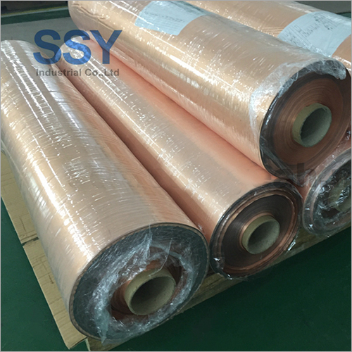 Industrial RFID Lining Gold Rose Fabric