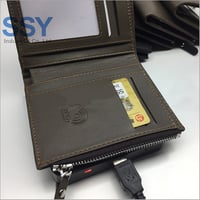 Test Wallet with RFID Lining Fabric