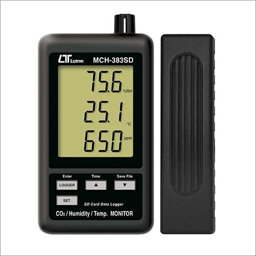 Co2 Humidity Temp Monitor