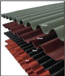 coloured Onduline Roofing Sheets