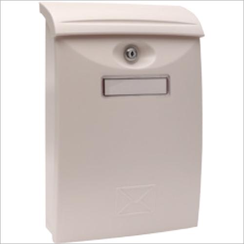 (LTP-01)Cream Plastic Letter Box