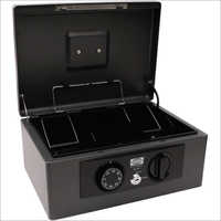 360L x 270W x 155H mm Retro Black Cash Box