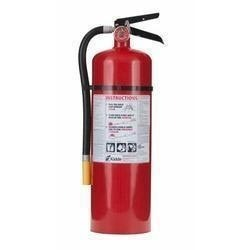 Abc squeeze grip cartridge type fire extinguisher