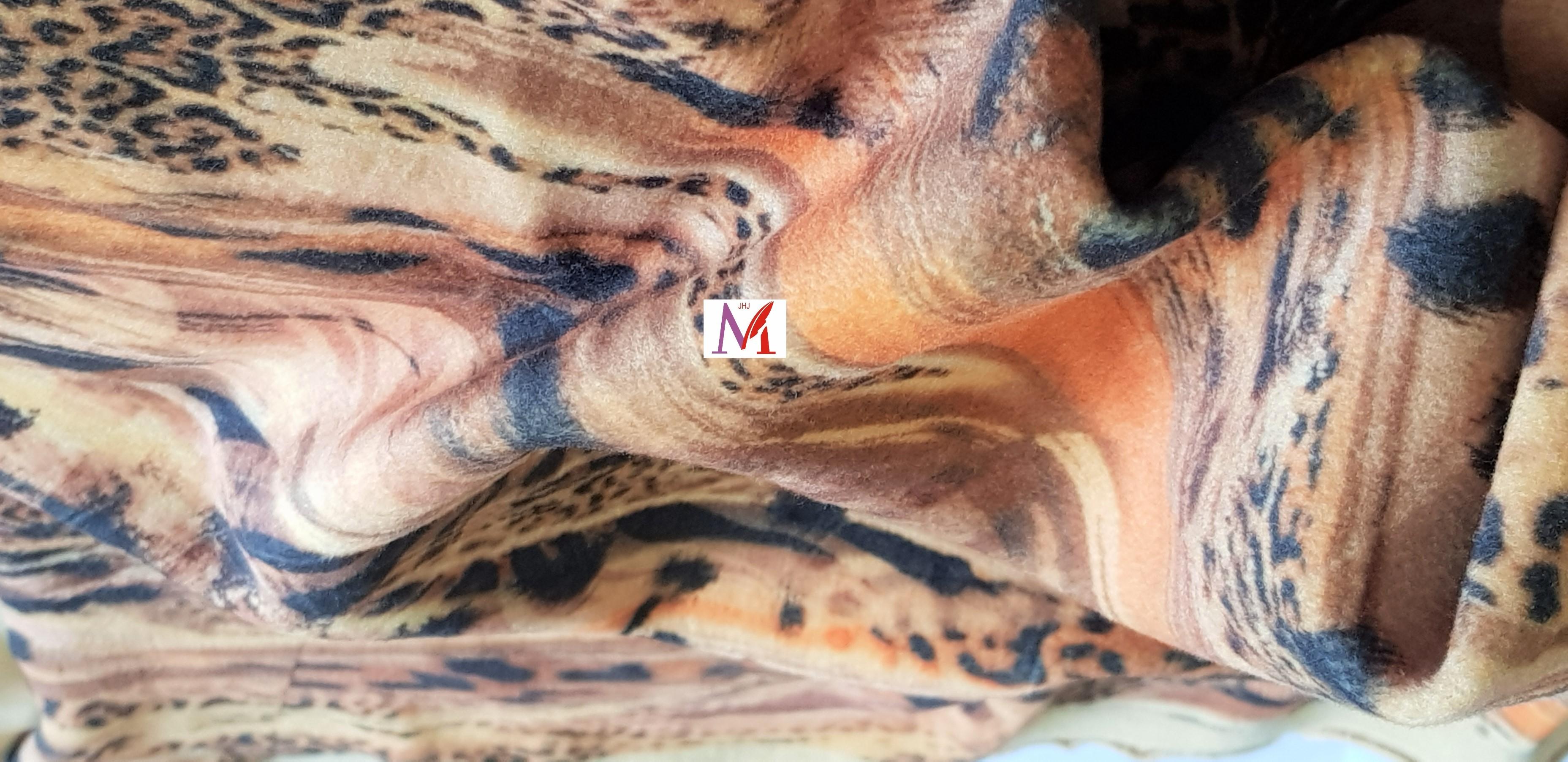 Animal Print Fur Fabric