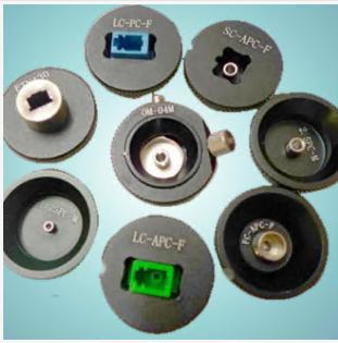 Fixture for Desktop optical fiber inspection