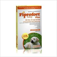 FIPROFORT PLUS DOG UPTO 10KG-FIPRONIL 9.8% W/V + S- METHOPR