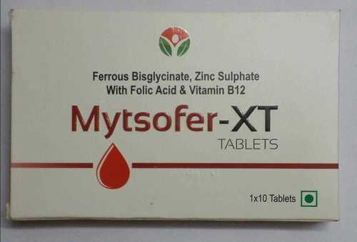 ferrous bis-glycinate zinc bis-glycinate folic acid  VITAMIN B12