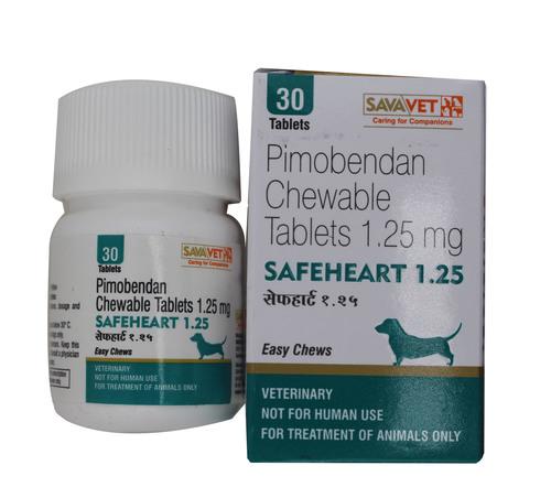 Safeheart 1.25mg Tablets Pimobendan