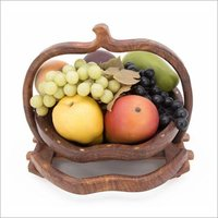 Wooden Fruit Basket