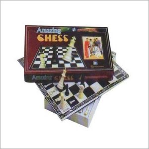 Folding Chess Board Game Box