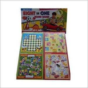 Kids Eight In One Board Game Box