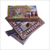Kids Playing Ludo Board Game Box