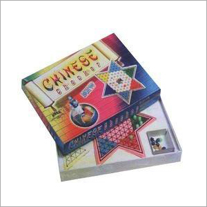 Chinese Plastic Checker Board Game Box