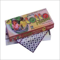 Lotto House Plastic Play Game Box