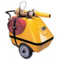 FRP Mobile Foam Tank Unit