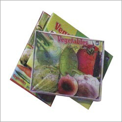 Vegetable Cardboard  Puzzles