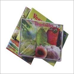Vegetable Cardboard  Puzzles