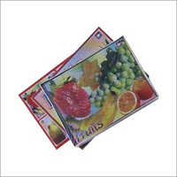 Fruit Cardboard  Puzzles