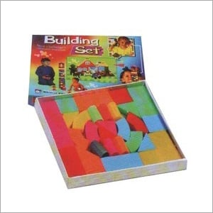 Kids Building Block Puzzle Board